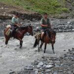 Přebrodit řeku, Gruzie